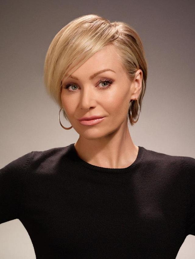 "Portia de Rossi as Lindsay Bluth Fünke on ""Arrested Development"" Season 4."
