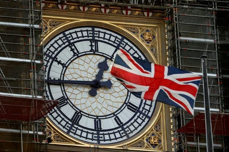 With mere days until Britain leaves the EU, attention has turned to whether Big Ben will ring in Brexit (AFP Photo/Adrian DENNIS)