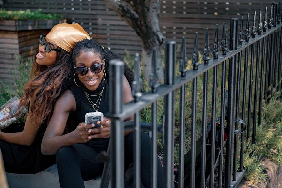 Ṣadé and Dela's friendship is at the heart of the show (Channel 4 / Ricky Darko)