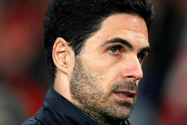 Arsenal manager Mikel Arteta is ready for the challenges of the Premier League restart (AFP Photo/Adrian DENNIS)