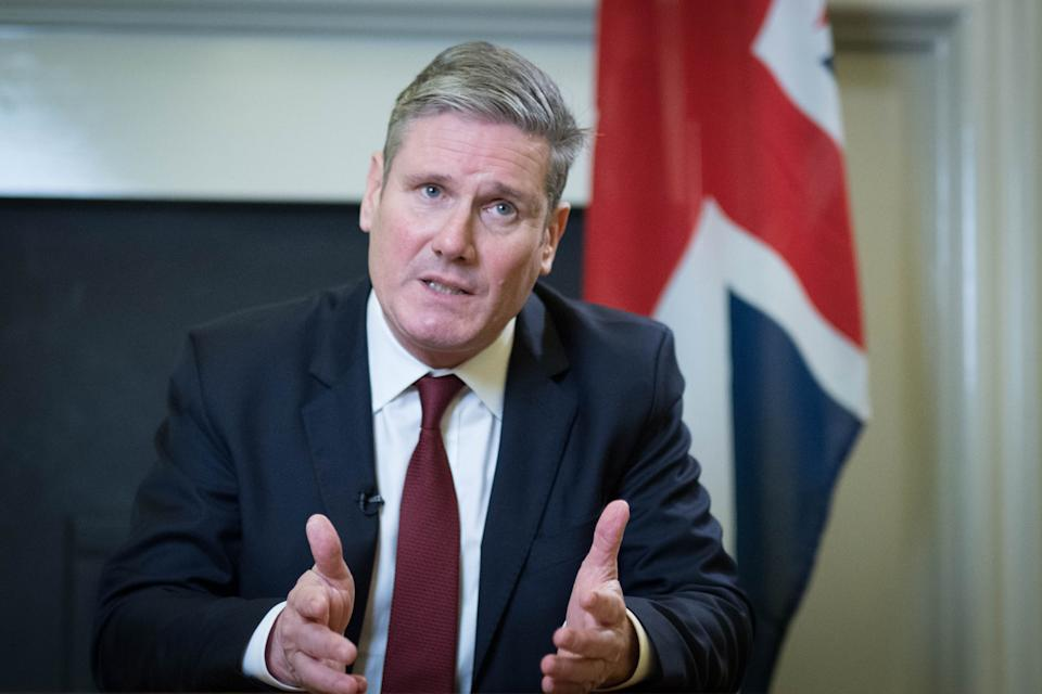<p>Sir Keir Starmer is to set out his 'optimistic' vision for a new relationship with the United States</p> (PA)
