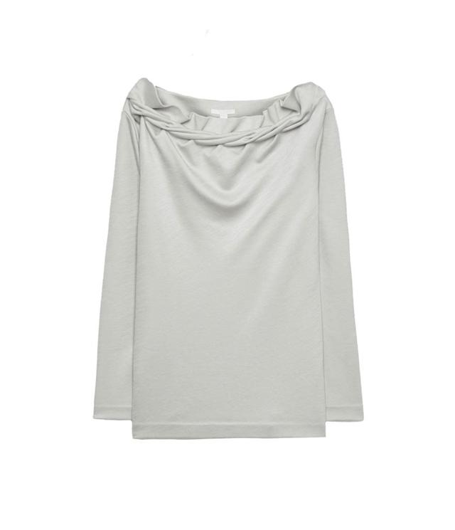 "<p>Jersey top with twisted detail, $50, <a href=""https://www.cosstores.com/en_usd/women/tops/product.jersey-top-with-twisted-detail-light-taupe.0636379001.html"" rel=""nofollow noopener"" target=""_blank"" data-ylk=""slk:cosstores.com"" class=""link rapid-noclick-resp"">cosstores.com</a> </p>"