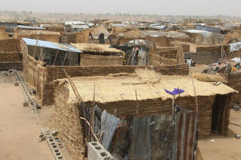 Desolate life: A camp for people displaced by Boko Haram violence in northeast Nigeria (AFP/Audu Marte)