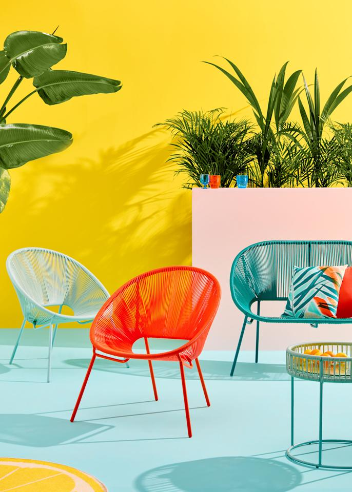 """<p>""""Applying muted tones like grey to your woven furniture is increasingly popular, adding an element of sophistication to your outdoor living area,"""" say the team at <a rel=""""nofollow"""" href=""""https://www.johnlewis.com/"""">John Lewis</a>. """"However, as well as the popularity of natural colours and finishes, more of us are becoming braver in our outdoor furniture choices – looking to inject pops of vibrant colour into our outdoor spaces using contemporary furniture designs and cutting-edge textile design.""""</p><p><strong><em>BUY NOW: <a rel=""""nofollow"""" href=""""https://www.johnlewis.com/brand/house-by-john-lewis/outdoor/_/N-1z14045Z1z0qrok"""">House by John Lewis collection, John Lewis</a></em></strong></p>"""