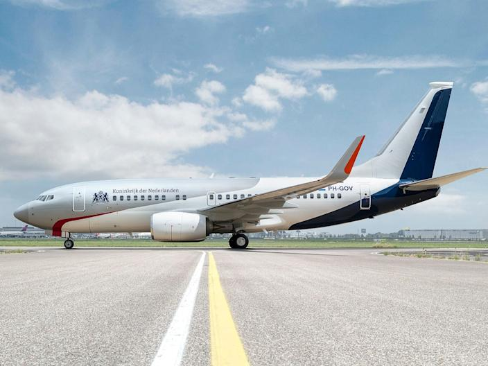 The Netherlands government Boeing BBJ 737.