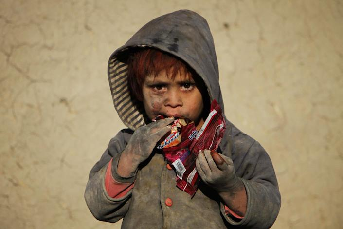 Image: Afghan child (Anadolu Agency / Getty Images file)