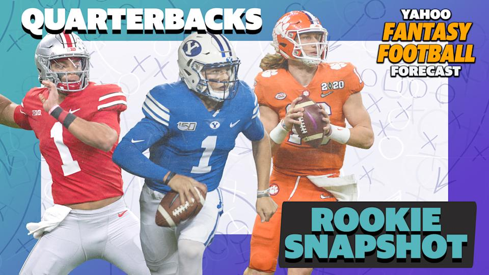 Who will break out among the 2021 class of rookie quarterbacks?
