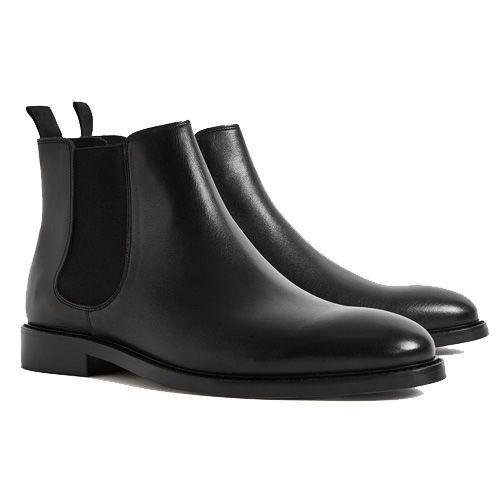 """<p><a class=""""link rapid-noclick-resp"""" href=""""https://go.redirectingat.com?id=127X1599956&url=https%3A%2F%2Fwww.reiss.com%2Fp%2Fleather-chelsea-boots-mens-tenor-in-black-ss20%2F%3Fq%3Dchelsea%2Bboot%26gaEeList%3Dsearch%2Bresults&sref=https%3A%2F%2Fwww.esquire.com%2Fuk%2Fstyle%2Fshoes%2Fg30456077%2Fbest-chelsea-boots%2F"""" rel=""""nofollow noopener"""" target=""""_blank"""" data-ylk=""""slk:SHOP"""">SHOP</a></p><p>A reliable pair of black Chelsea boots should really be in every man's wardrobe. These are made in Italy, have a rubber sole and a small stacked heel. Perfect for any special occasions.</p><p>Tenor Black Leather Chelsea Boots, £195, <a href=""""https://go.redirectingat.com?id=127X1599956&url=https%3A%2F%2Fwww.reiss.com%2Fp%2Fleather-chelsea-boots-mens-tenor-in-black-ss20%2F%3Fq%3Dchelsea%2Bboot%26gaEeList%3Dsearch%2Bresults&sref=https%3A%2F%2Fwww.esquire.com%2Fuk%2Fstyle%2Fshoes%2Fg30456077%2Fbest-chelsea-boots%2F"""" rel=""""nofollow noopener"""" target=""""_blank"""" data-ylk=""""slk:reiss.com"""" class=""""link rapid-noclick-resp"""">reiss.com</a></p>"""