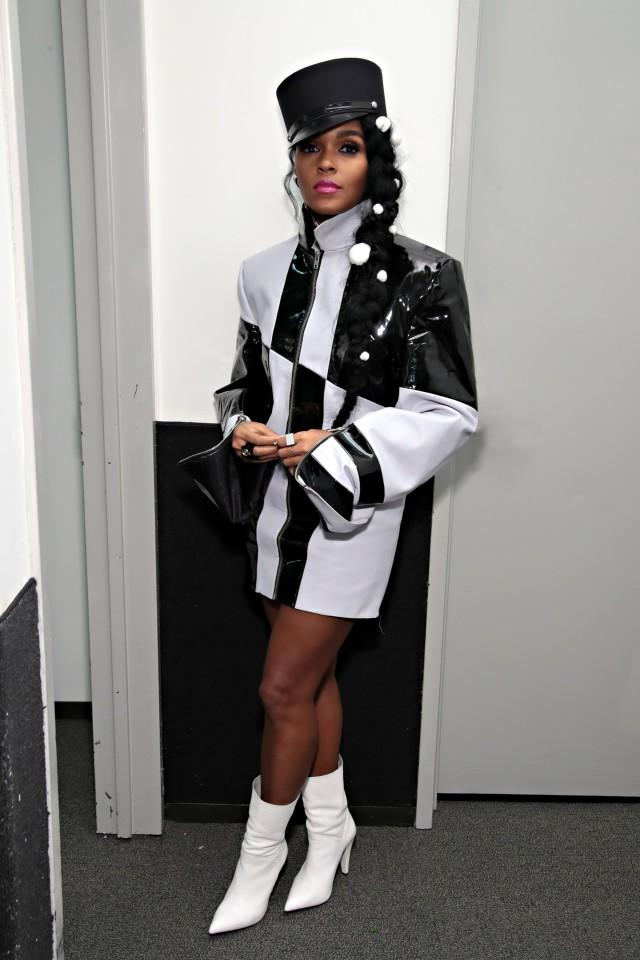 Janelle Monae at Dirty Computer screening in NY