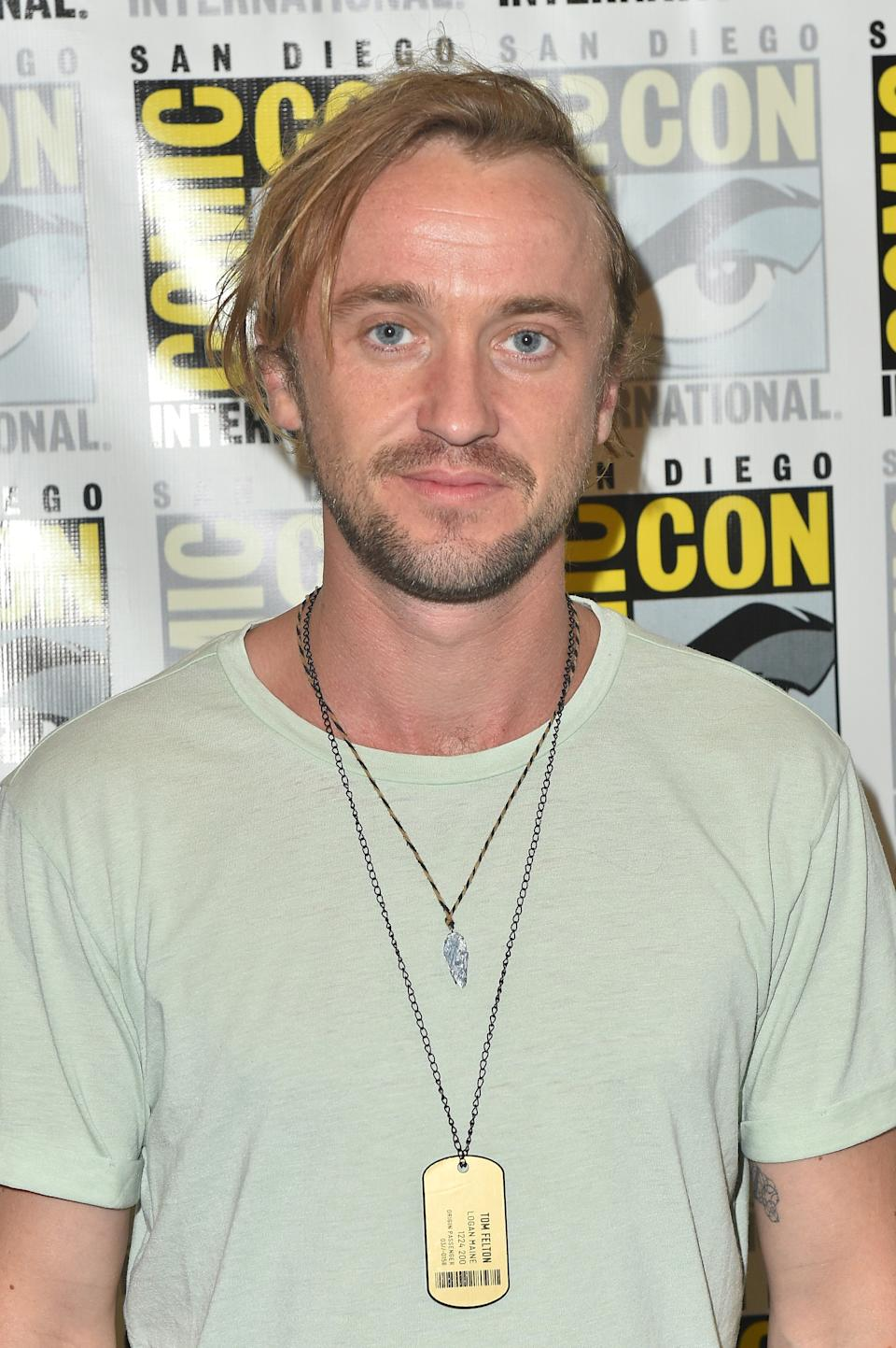 SAN DIEGO, CA - JULY 19:  Tom Felton attends YouTube's
