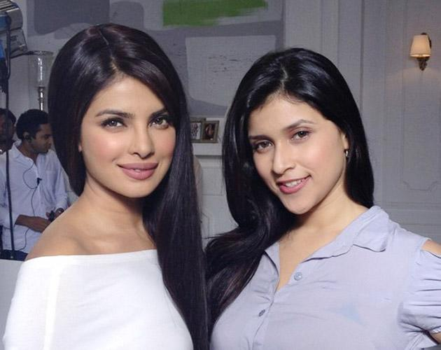 Priyanka with her cousin Barbie Handa