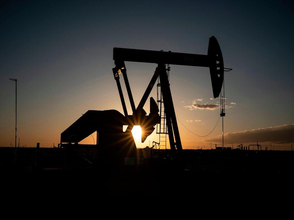 <p>Much of the world's energy still comes from fossil fuels like oil</p> (Paul Ratje/AFP/Getty Images)