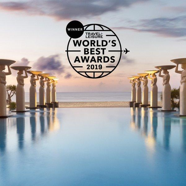 Mulia Bali named #1 Best Hotel Resorts in Indonesia by Travel+Leisure Readers