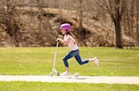 <p>If they love being outdoors, then treat them to the <span>Maisonette Sprite Outdoor Scooter</span> ($100). The lightweight design only weights five and a half pounds, so it's easy to carry around and transport.</p>