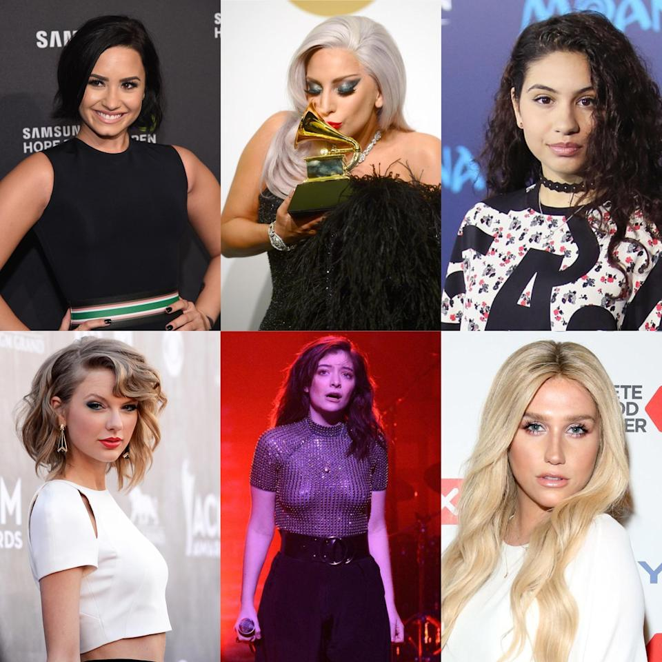 Most empowering female artists of the year (Photo credits: Getty Images)