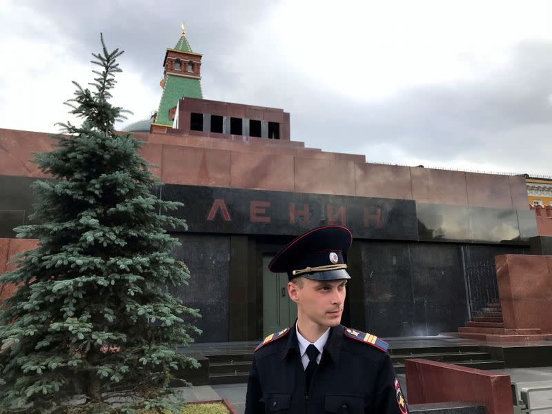 Russia closes Lenin's tomb on Red Square amid coronavirus fears