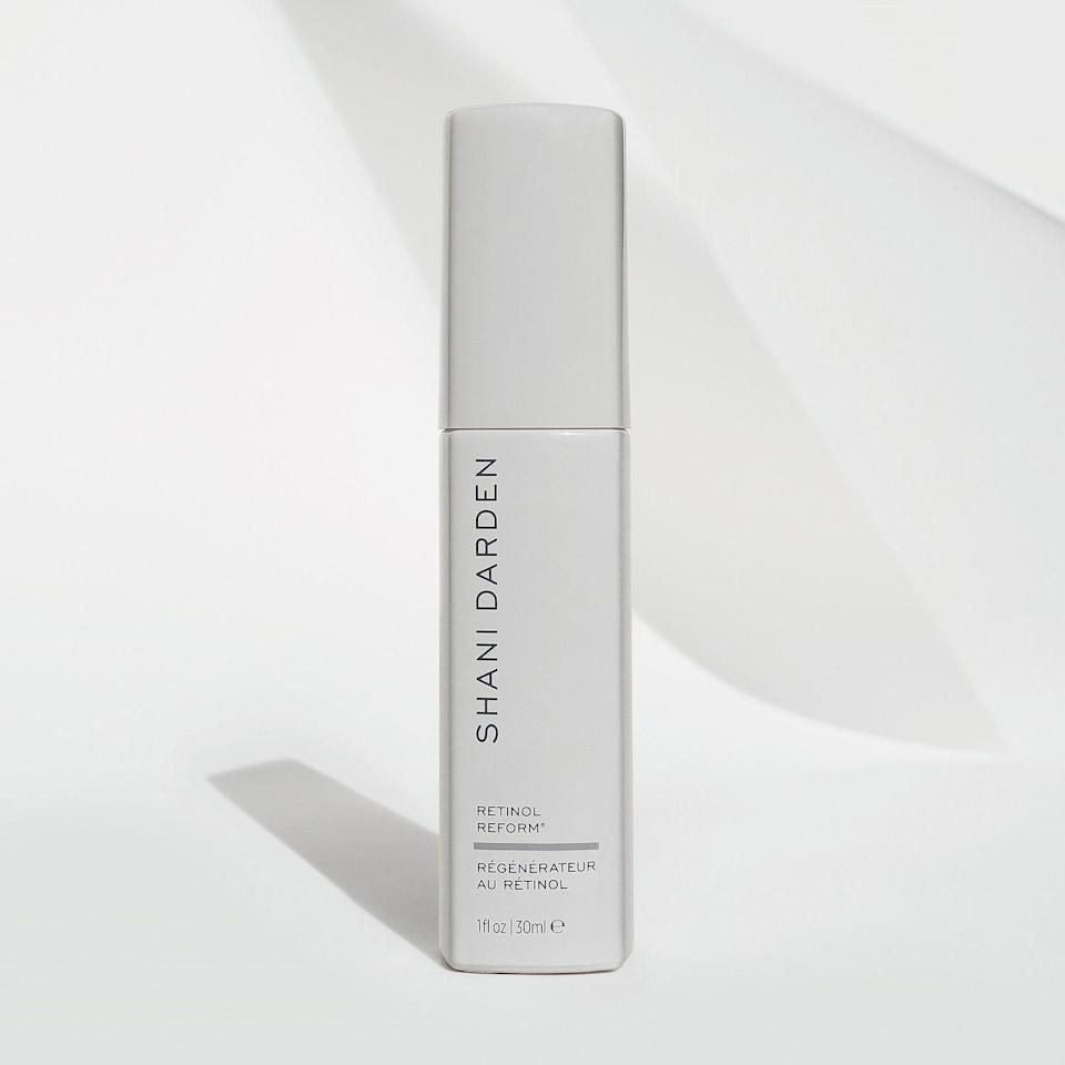 """<p><strong>Shani Darden Skin Care</strong></p><p>sephora.com</p><p><strong>$30.00</strong></p><p><a href=""""https://go.redirectingat.com?id=74968X1596630&url=https%3A%2F%2Fwww.sephora.com%2Fproduct%2Fshani-darden-retinol-reform-P455926&sref=https%3A%2F%2Fwww.oprahdaily.com%2Fbeauty%2Fskin-makeup%2Fg29529033%2Fbest-dark-spot-correctors%2F"""" rel=""""nofollow noopener"""" target=""""_blank"""" data-ylk=""""slk:Shop Now"""" class=""""link rapid-noclick-resp"""">Shop Now</a></p><p>The lightweight serum from expert esthetician Shani Darden delivers a healthy dose of encapsulated retinol (which is a gentler version), as well as lactic acid and fruit extracts to increase cell turnover, generate collagen, exfoliate dead skin cells, and reduce the appearance of dark spots and acne scars, so your complexion is smoother and more radiant. </p>"""