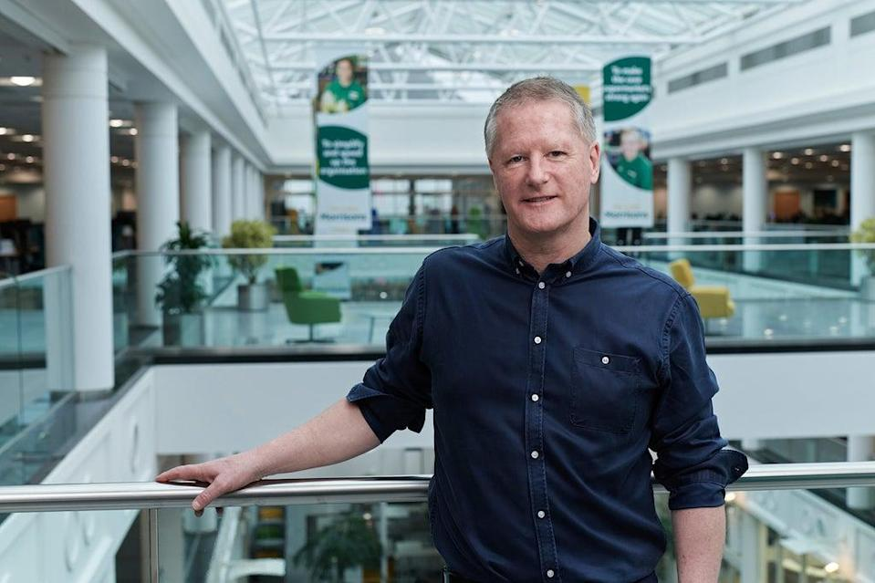 Morrisons boss David Potts, and the rest of the supermarket board, have approved the CD&R bid (Morrisons/PA) (PA Media)