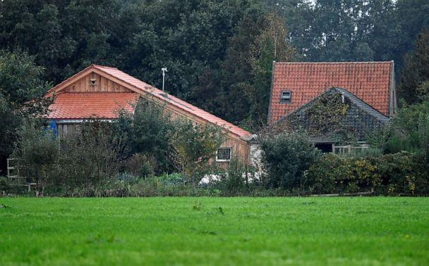 PHOTO: A view of the farm where a family was found living in Ruinerwold, Netherlands. (Piroschka Van De Wouw/Reuters)