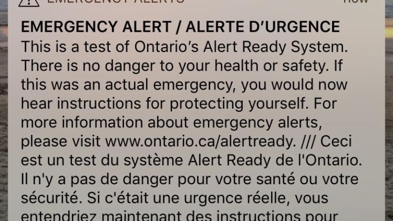 Nunavut opted out of national emergency alert test, citing not enough cellphones in territory