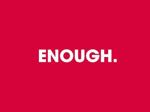 Racist abuse directed at players supporting #Enough campaign