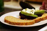 <p><b>Healthy Beet & Goat Cheese Sandwich</b><br></p><p>Why use goat cheese only for salads? This healthy sandwich made with thinly sliced boiled beet, cooked spinach & crumbled goat cheese seasoned with pepper is a healthy delight. Use wheat or multi-grain rolls instead of plain bread. Rustle up a simple side salad for a wholesome meal. <br></p>