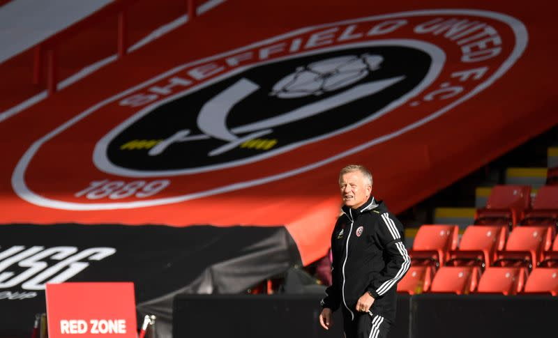 Blades boss Wilder unconcerned by top-four talk