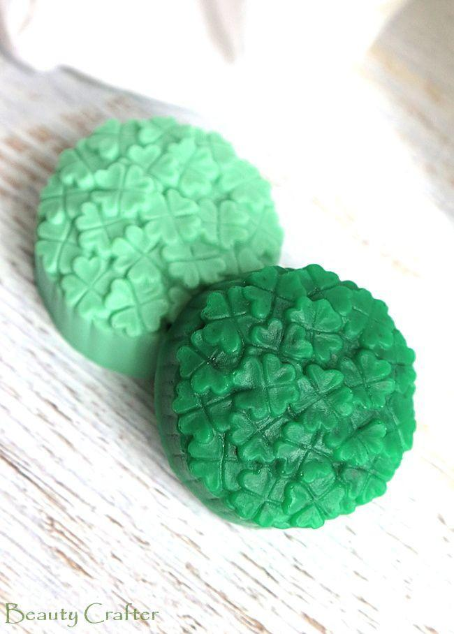 """<p>Waking up to green soap (well, green everything) is all the evidence your kids need to confirm that the leprechaun made a sneaky stop at your house during the night. </p><p><em><a href=""""https://beautycrafter.com/st-paticks-day-soap-diy/"""" rel=""""nofollow noopener"""" target=""""_blank"""" data-ylk=""""slk:Get the tutorial at Beauty Crafter »"""" class=""""link rapid-noclick-resp"""">Get the tutorial at Beauty Crafter »</a></em></p>"""