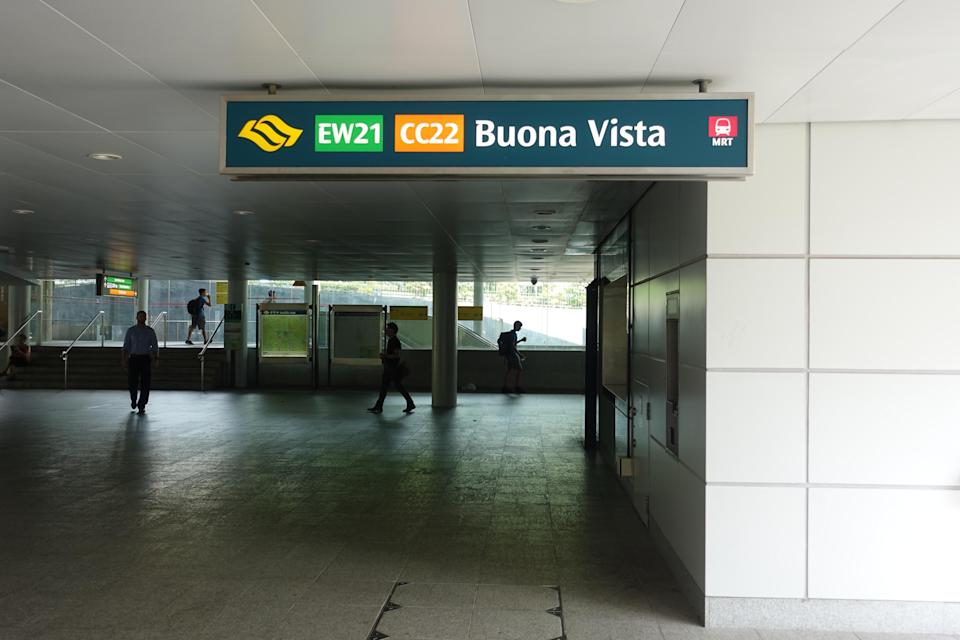 Buona Vista MRT Station Singapore (Yahoo News Singapore file photo)
