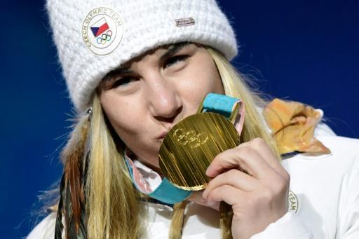 <p>Olympic star Ledecka emerges from shadow of rock star dad</p>