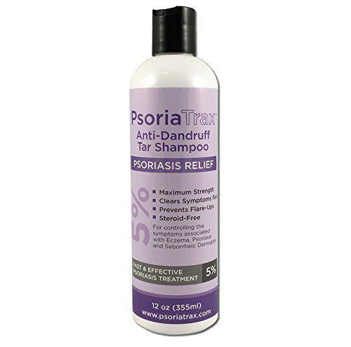 """<p><strong>PsoriaTrax</strong></p><p>amazon.com</p><p><a href=""""https://www.amazon.com/dp/B002KAA8KK?tag=syn-yahoo-20&ascsubtag=%5Bartid%7C10055.g.29862922%5Bsrc%7Cyahoo-us"""" rel=""""nofollow noopener"""" target=""""_blank"""" data-ylk=""""slk:Shop Now"""" class=""""link rapid-noclick-resp"""">Shop Now</a></p><p>""""The 5% Coal Tar in the shampoo functions to preclude scale build-up and skin-cell growth,"""" says Dr. Frieling. """"This reduces redness, itchiness and inflammation. The shampoo should be left on for 5 to 10 minutes to allow it to penetrate for maximum effectiveness.""""</p>"""