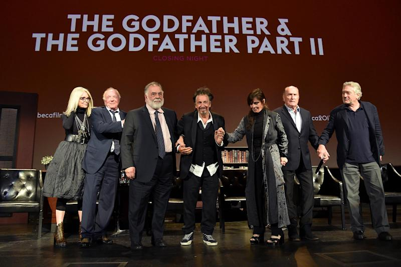 The Godfather'cast reunites at Tribeca Film Festival