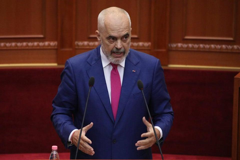 Albania New Government (Copyright 2021 The Associated Press. All rights reserved)