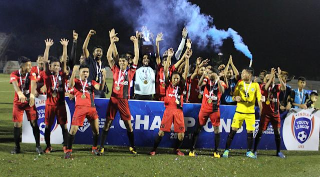A 3-0 win against Mohammedan Sporting in the final secured the maiden U-13 league trophy for the I-League champions...