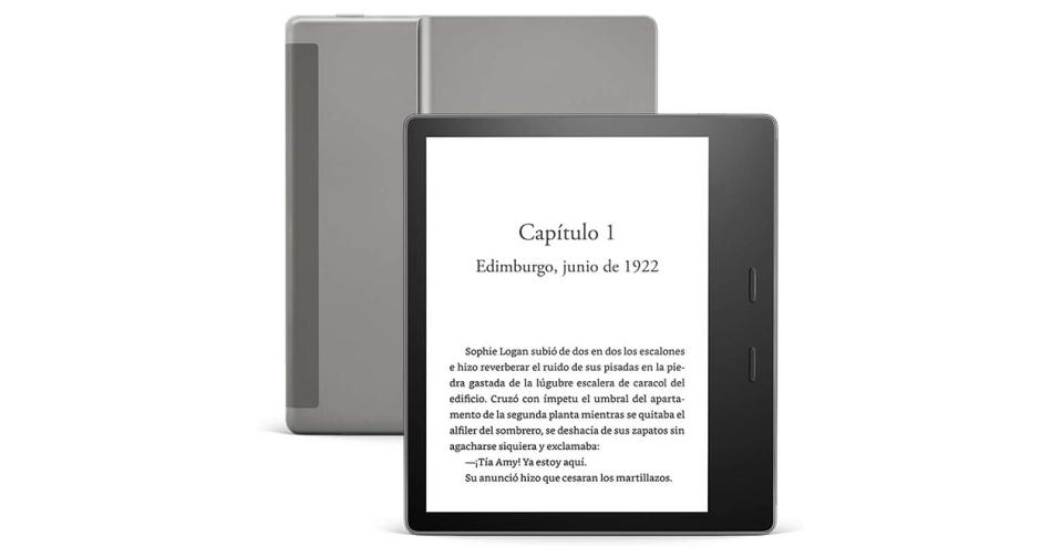 Kindle Oasis - Foto: Amazon.com.mx