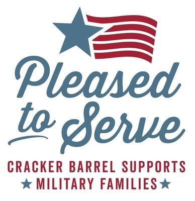 By providing military family members a donated Heat n' Serve Easter Family Meal To-Go, Cracker Barrel continues its support of Operation Homefront's mission of building strong, stable and secure military families.