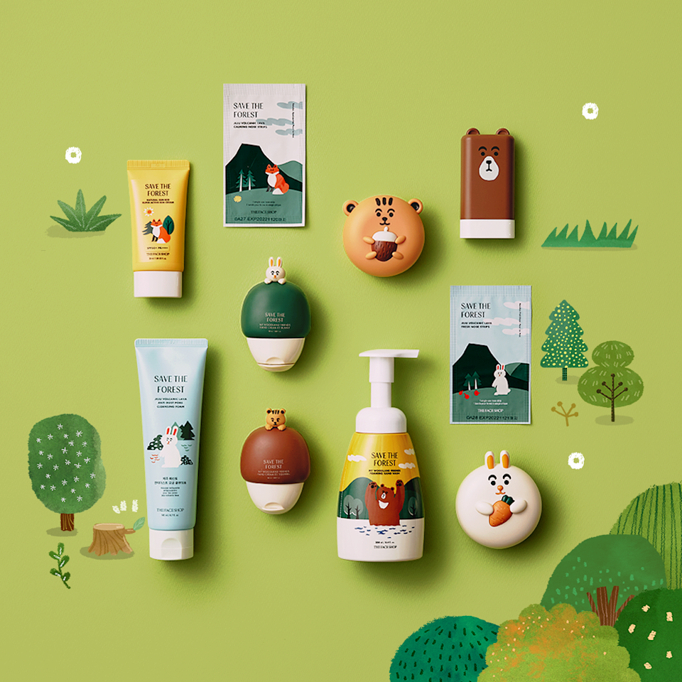 Forest Friends. (PHOTO: TheFaceShop)