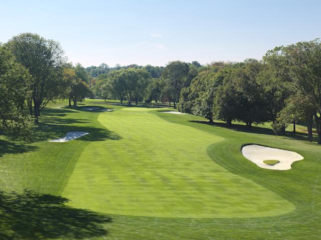 "<h1 class=""title"">4th Hole, Philadelphia Country Club Spring Mill</h1> <div class=""caption""> The fourth hole at Philly C.C.'s Spring Mill course. </div> <cite class=""credit"">Evan Schiller</cite>"