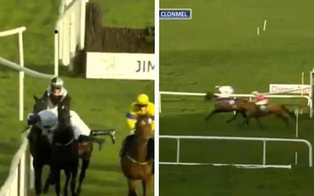 The greatest ride ever? Jockey Jack Kennedy performs astonishing acrobatics to pull off miraculous victory