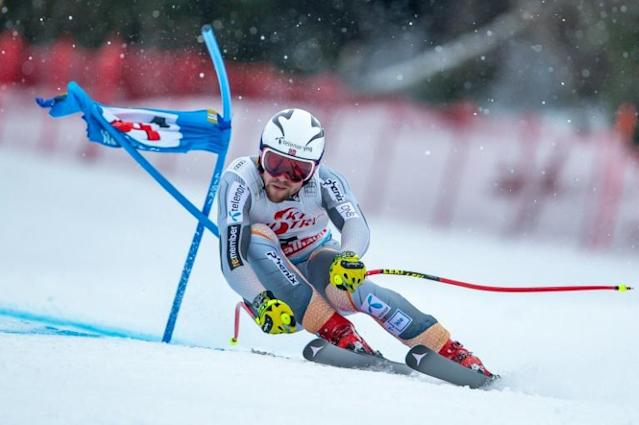 Aleksander Aamodt Kilde climbs top of the overall World Cup standings (AFP Photo/Johann GRODER)