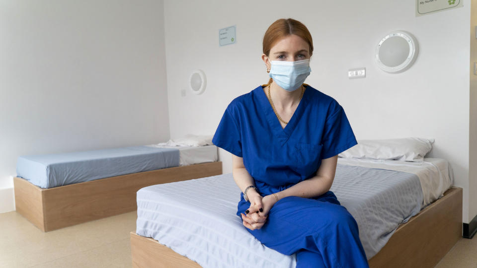 Stacey Dooley: Back on the Psych Ward. (BBC/True Vision Productions Ltd/Carla Grande)