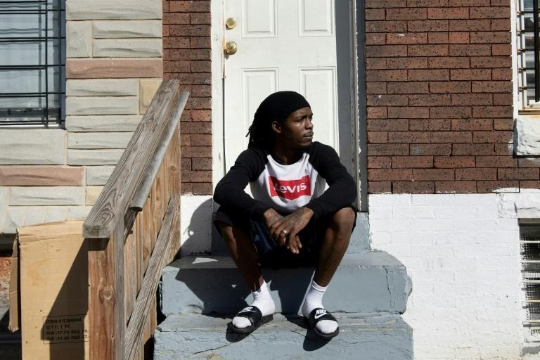 Demon Lane, who lives in east Baltimore, says he has no hope his decaying neighborhood will improve