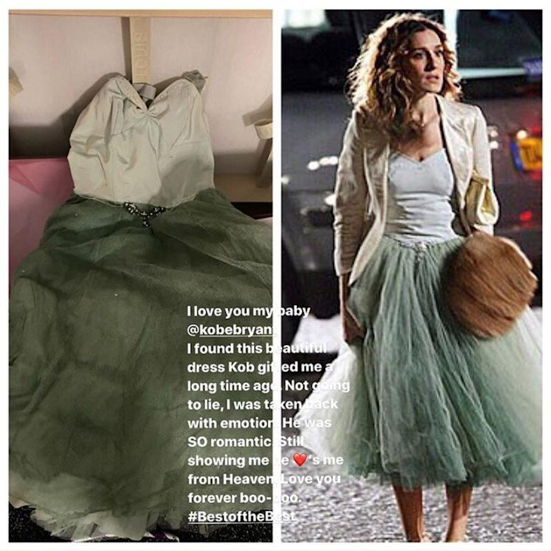 Vanessa Bryant Shares Photo of Sex and the City Finale Dress That ...