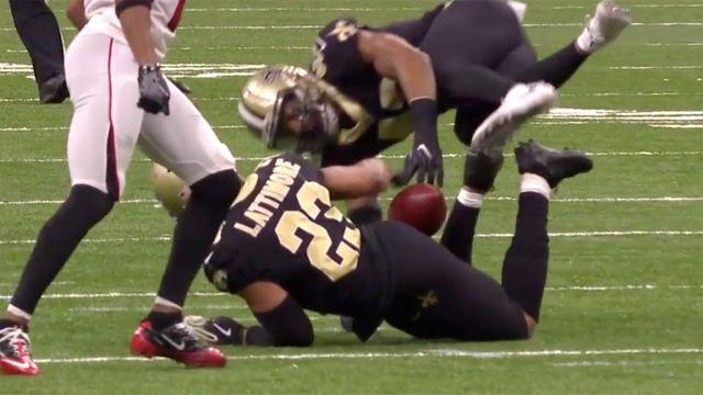 How did he do that!? Image: NFL