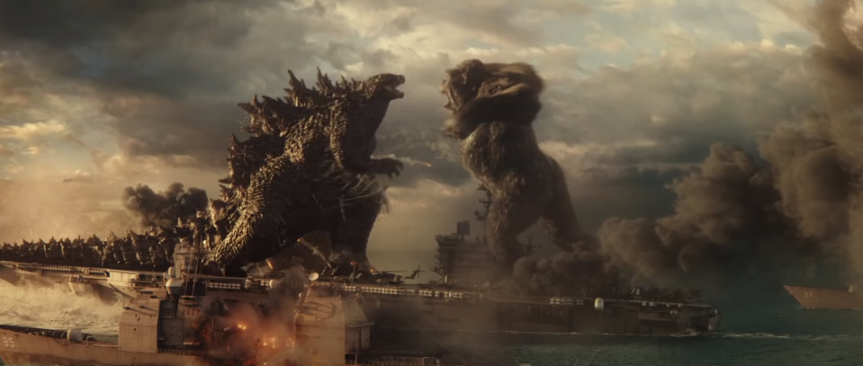 Godzilla Vs. King Kong (Credit: Warner Bros)