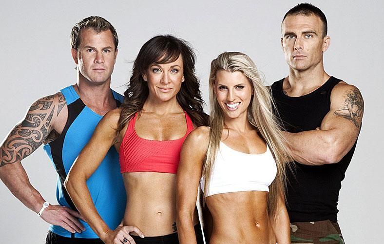 Tiffiny is most well-known for being a trainer on The Bigger Loser. Source: Channel Ten