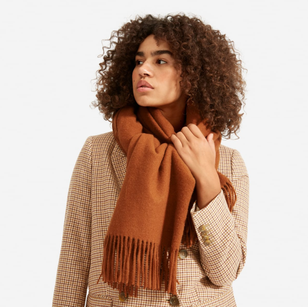 The Wool-Cashmere Blanket Scarf