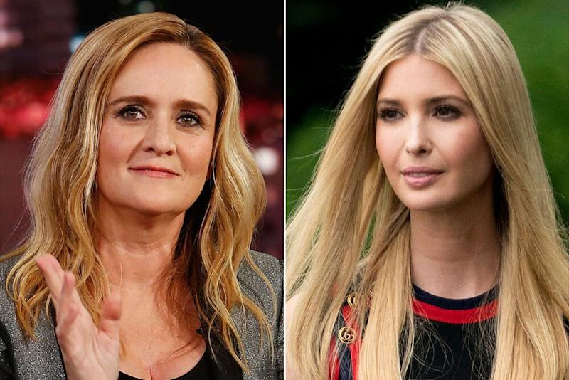 Samantha Bee (left) and Ivanka Trump | Getty; Shutterstock