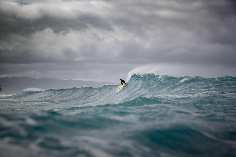John John Florence grew up on a stretch of beach known as the Seven-Mile Miracle for its world-class surf spots. (Courtesy of John John Florence / Parallel Sea Productions)
