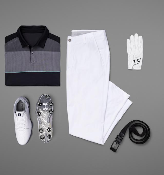 You can buy each element of Jordan Spieth's outfit at the Masters
